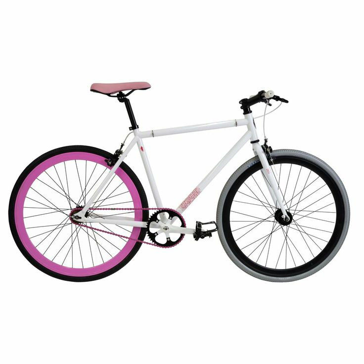 28 Fixie White Pink. Oxford.