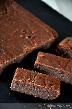 La Cuisine de Niya - Gâteau fondant au chocolat et à la crème de marron bio
