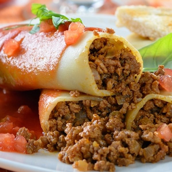 A delicious cannelloni recipe dish to make husbands happy around the world.