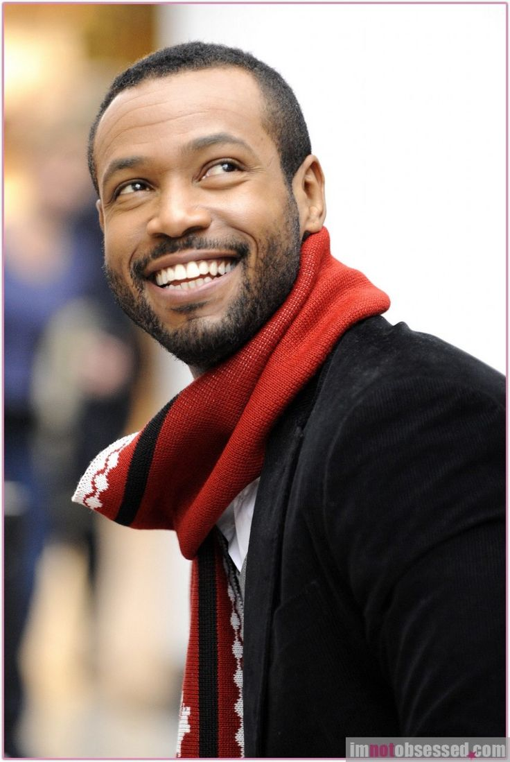 Isaiah Mustafa - the Old Spice guy