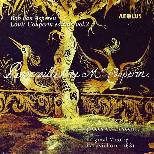 Edition Louis Couperin, volume 2-Bob Van Asperen-Aeolus