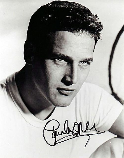 Paul Newman talented & handsome!