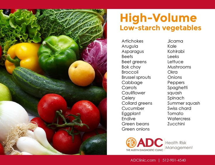 ADC health educators put together this list of high volume ...