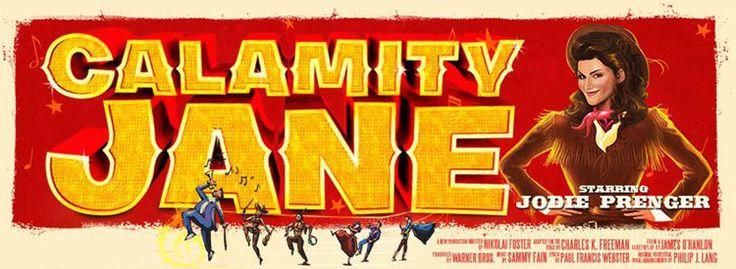 Calamity Jane Tickets   Wimbledon Theatre Tickets   New Wimbledon ...