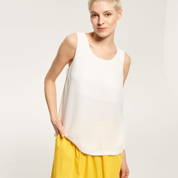 LADIES` BLOUSE, SHIRTS, biaŁy, RESERVED, http://www.reserved.com/pl/pl/woman/all-1/clothes/t-shirts/qr952-00x/plain-top