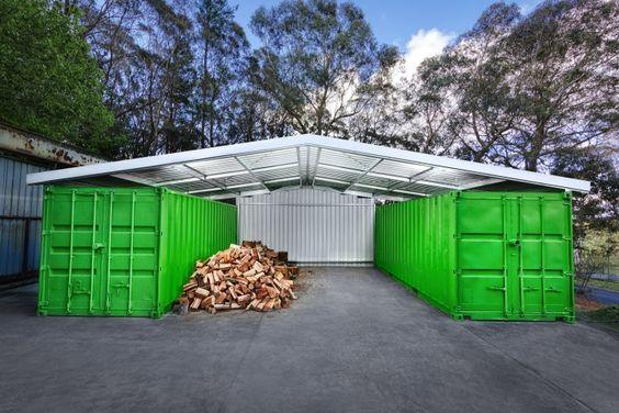 Les 636 meilleures images du tableau container house sur for Container maison taille