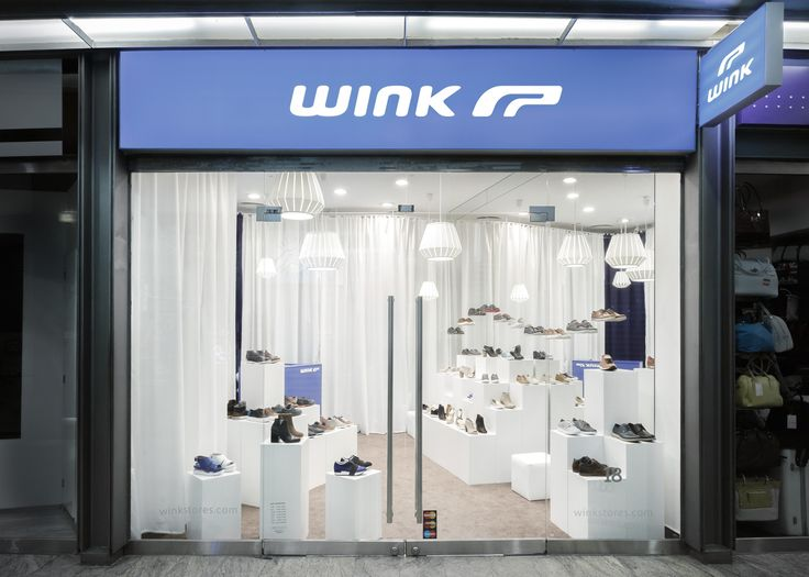 WINK Store at Westend, Budapest, Hungary. Designed by WY