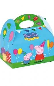 Peppa Pig Party Boxes or Lunch boxes  www.easykid.co.uk