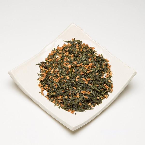 Loose Leaf Gen Mai Cha Premium Green Tea by Satya Tea - Liquid Wisdom from only $7