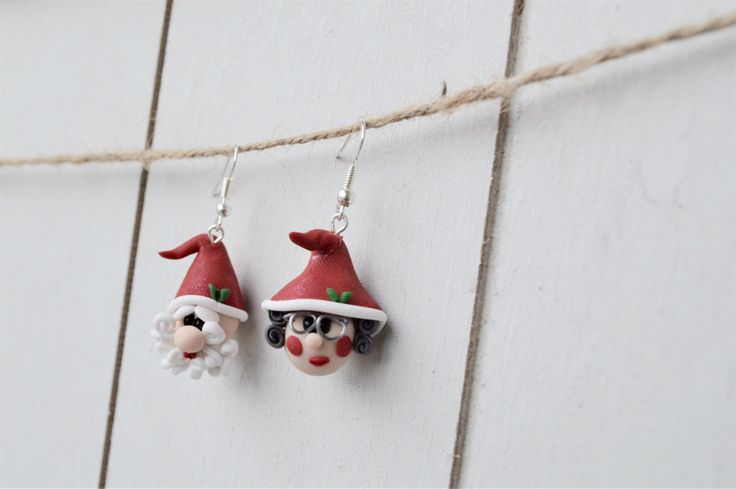A personal favorite from my Etsy shop https://www.etsy.com/ca/listing/497270187/original-handmade-christmas-earrings