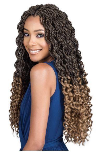 Bobbi Boss Senegal Twist Curly Goddess 20 Braided Hairstyles Box Braids Hairstyles Curly Hair Styles