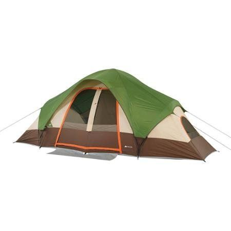 Family Camping Tent for 8-Persons with Removable Center Room Divider and Two Front Doors, Ozark Trail -- Check out the image by visiting the link.