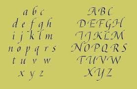 ABC  - Humanistisch cursief