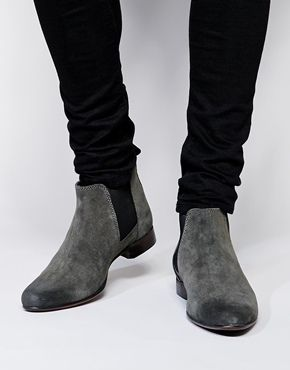 ASOS Chelsea Boots in Suede