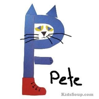 Preschool children will love to turn the letter P into Pete the Cat with this easy letter P craft. Description from kidssoup.com. I searched for this on bing.com/images