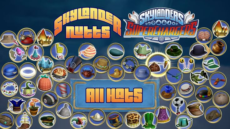 All Hats of Skylanders SuperChargers (Xbox One Version) - Watch Trigger Happy model all 266 Hats from Skylanders SuperChargers