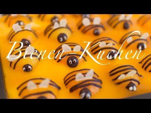 Aprikosen-Bienen-Kuchen | Osterkuchen | Aprikosentorte - YouTube