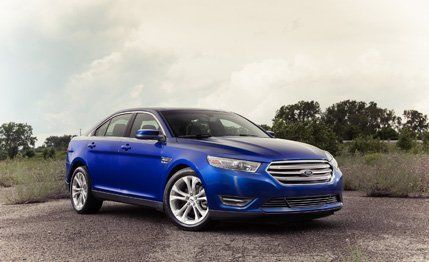 2013 Ford Taurus 2.0L EcoBoost  Moving a large car with a small engine takes a lot of eco-busting boost.