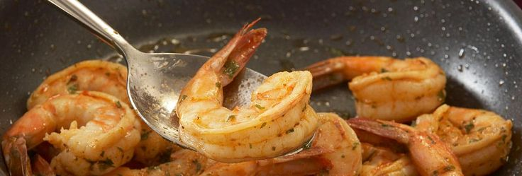 Garlic is an excellent mate for almost any seafood, highlighting the delicate flavors without overwhelming the taste buds. Pair with a light white wine at your holiday party or break out the beer and chips. It's that flexible. Served over rice, it's a tasty main dish.
