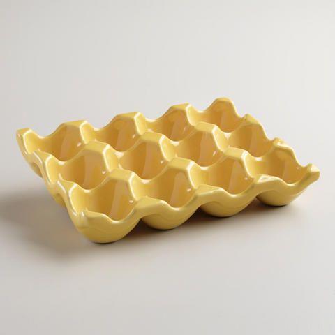 Ceramic 1 Dozen Egg Crate $6