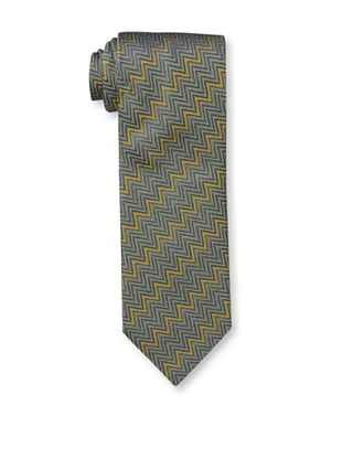 53% OFF Missoni Men's Textured Zig Zag Tie, Gold/Blue