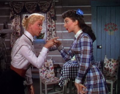 """StinkyLulu: Calam and Katie's """"Secret Love"""" in Calamity Jane (1953) - Musical of the Month"""