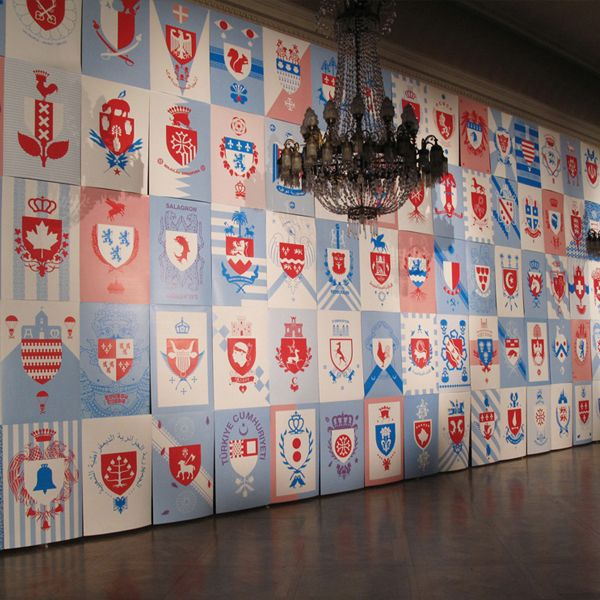French Heraldry Exhibition | Jules Julien by Hugo & Marie , via Behance