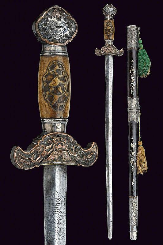 Sword: provenance: Vietnam  dimensions: length 75 cm.  dating: 19th Century