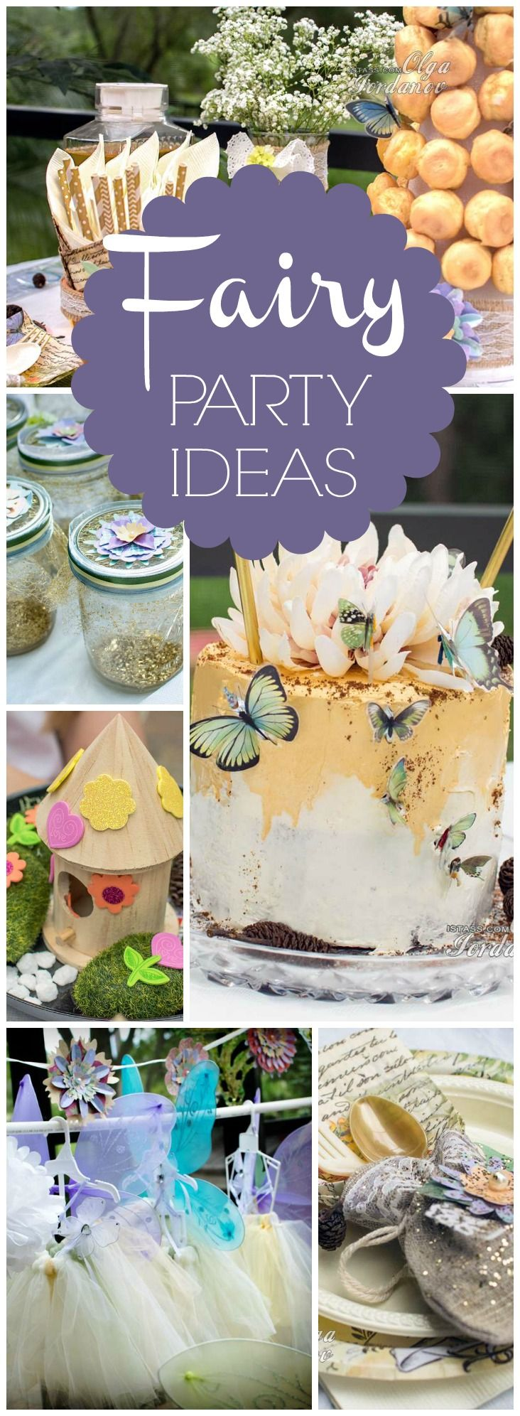 You must see this stunning woodland fairy party! See more party ideas at CatchMyParty.com!