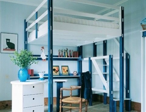 72 best lits mezzanine images on pinterest | small spaces, bed