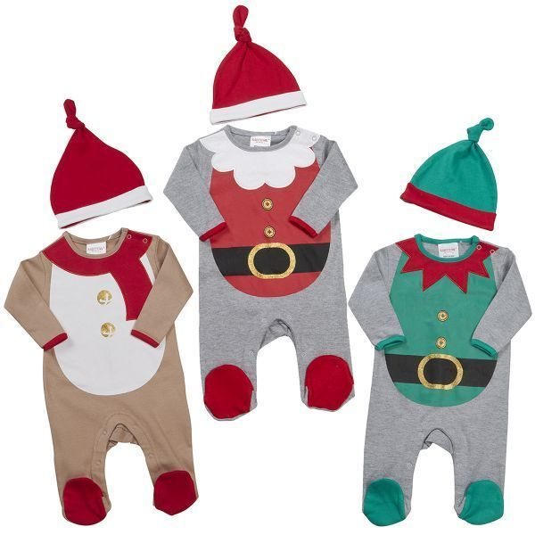 Babies Novelty Sleeper Set - Christmas by Babytown Listing in the…