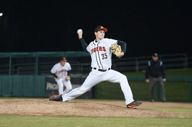Cooper Casad Pitching For The Pacific Tigers as They Play Conference Foe BYU