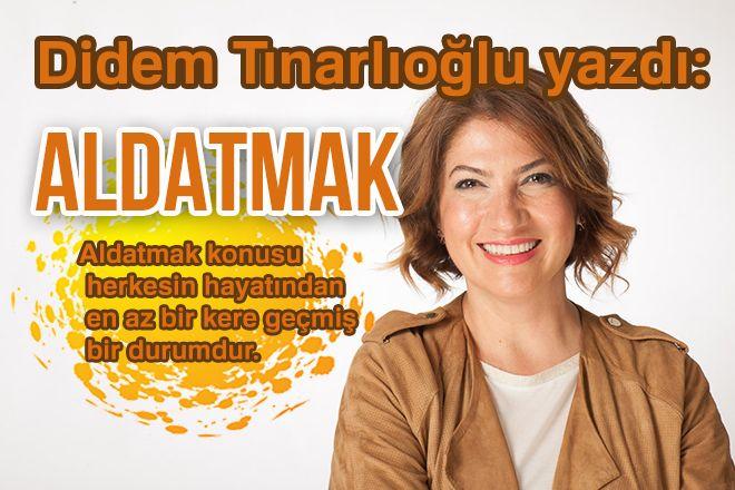 Didem Tınarlıoğlu yeni yazısında