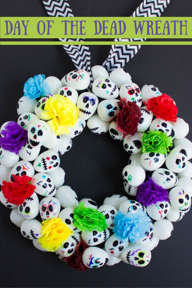 33 best day of the dead party images on pinterest craft for Day of the dead craft supplies