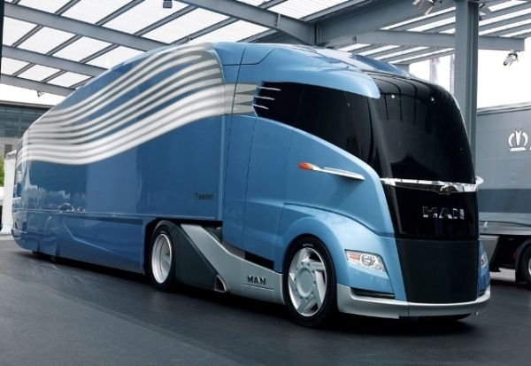 """MAN """"Concept S"""" – The Future Of The Truck www.aquamriacles.com"""