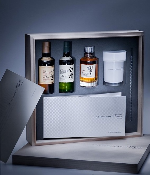 """Suntory """"The Art of Japanese Whisky"""" Set"""