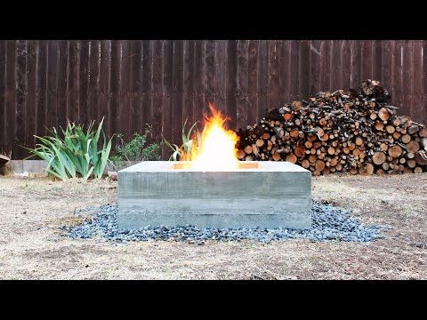 This modern concrete fire pit can be built over a single weekend and is a great centerpiece for outdoor entertaining. This isn't a difficult project, but it's time...