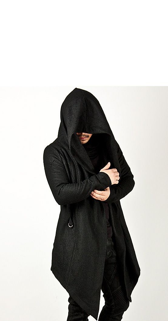 Avant Garde Unbeatable Diabolic Hood Cape Black Coat