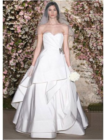 1000+ images about Oscar de la Renta Wedding Dresses at ...