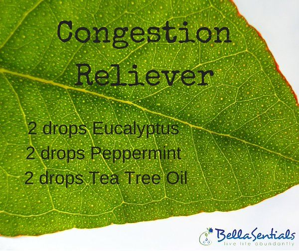 Want to decongest? Ease a stuffy nose with this diffuser blend.   Use in your BellaSentials Oil Diffuser!  www.bellasentials.com