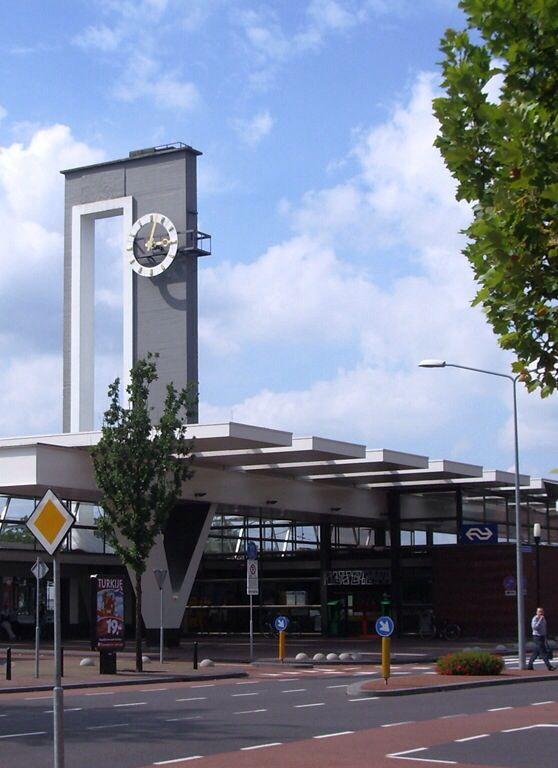 Station, Almelo, Overijssel.