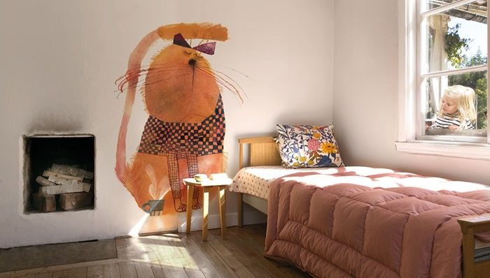 The Cutest Wallpapers for your Child's Room- Petit & Small