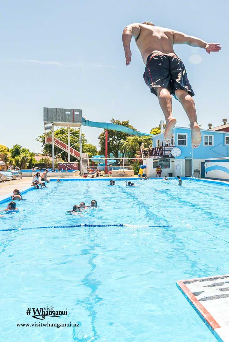 Whilst in Whanganui, New Zealand, enjoy our great swimming facilities - an indoor swimming complex with hydro-slides and an outdoor pool! via @visitwhanganui