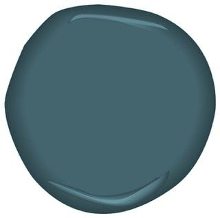 Benjamin Moore - Stained Glass A dark teal with lots of black