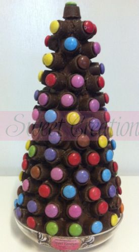 Rolo & Smarties Christmas Sweet Tree