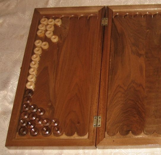 GlobeIn: Nardy Game Board and Pieces #globein