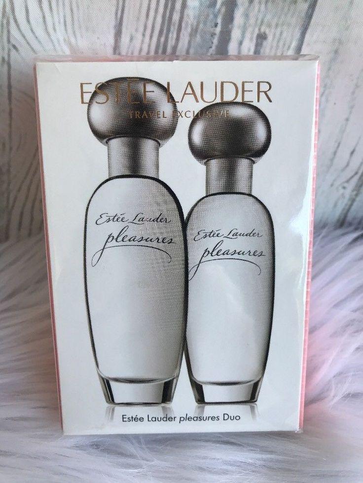 Lot 2 Estee Lauder PLEASURES Eau de Parfum Perfume Spray 1 Fl oz Each New Sealed #EsteeLauder