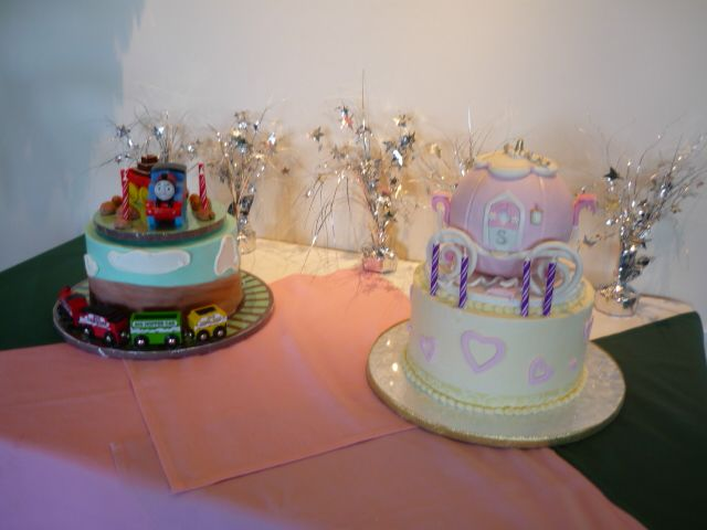Th Birthday Cakes For Twins
