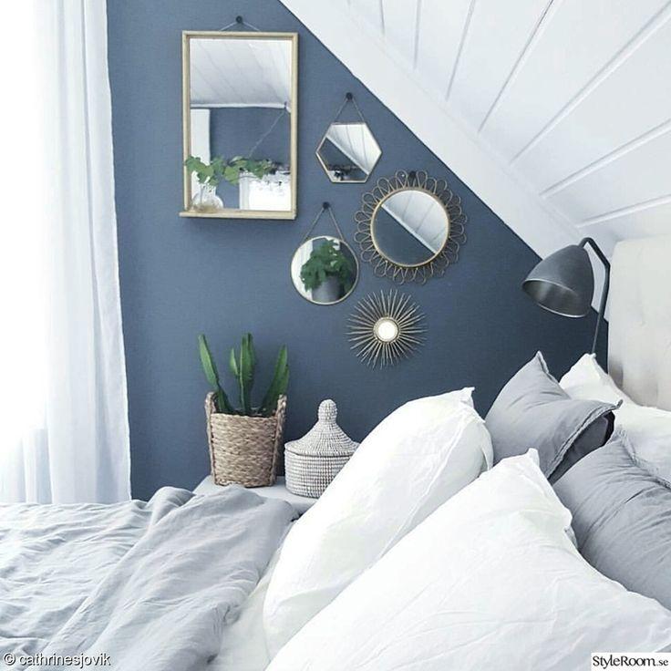 blått,kaktus,sovrum,spegelvägg,linne