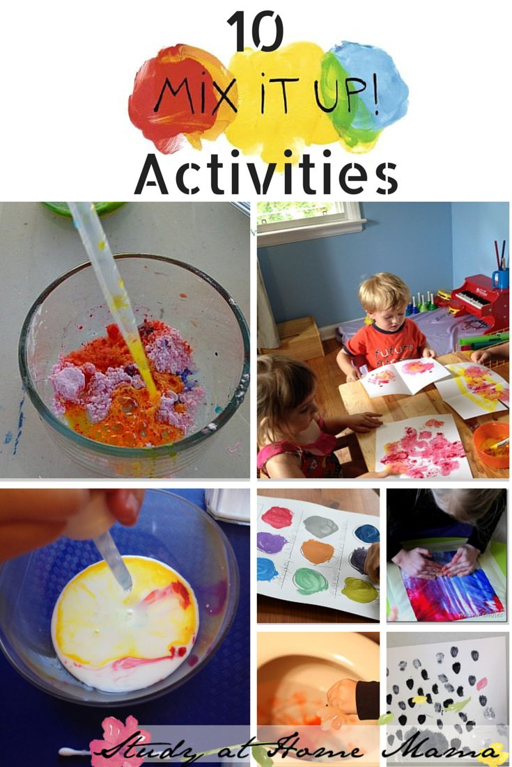 10 colour mixing activites and mix it up book review some of the color - Colors Book